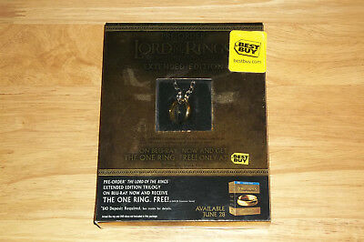 """Lord of the Rings """"The One Ring"""" Best Buy Exclusive Pre-Order Bonus, NEW"""
