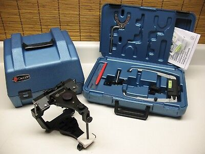 Mark I I  Semi Adjustable Dental Articulator / Denar Slidematic Facebow Lab Wax