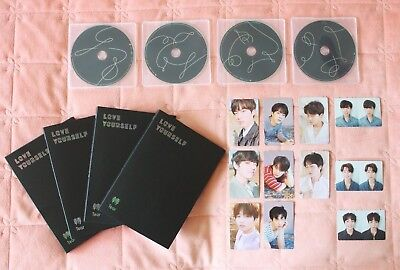 BTS  LOVE YOURSELF 轉 'Tear' Official Album CD Photobook Photocard Fake Love