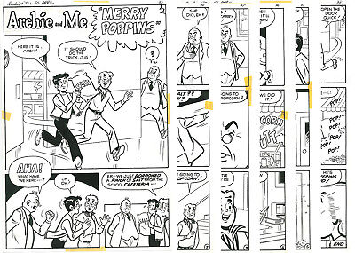 Archie and Me 55 ~ 6 page complete story - Joe Edwards 1974