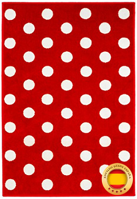 Kit for Kids MAT9001 - Tapete de decoración, 100 x 150 cm, color rojo