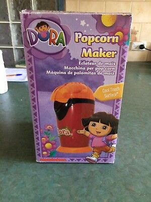 Nickelodeon Dora Popcorn Maker: AS NEW