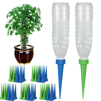 12Pcs Automatic Watering Irrigation Spike Garden Cone Drip Sprinkler