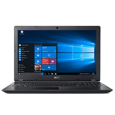 Notebook ACER 2519 Intel Quad Core 4x2,56GHz 500GB SSD - 8GB RAM WINDOWS 10 Pro