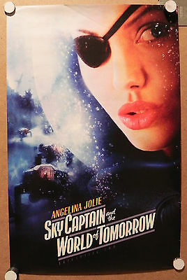 Angelina Jolie Sky Captain & the World of Tomorrow Mini Promo Poster Original