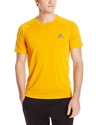 ADIDAS Men's Ultimate Tee Climalite Short Sleeve T-Shirt Gym SIZE SMALL