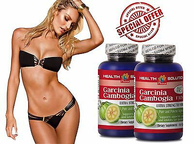 weight loss supplement - GARCINIA CAMBOGIA Extract - Calorie Burn - 2 Bottles
