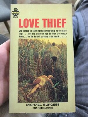Love Thief By Michael Burgess Midwood Sleaze Collectible Paperback Smut