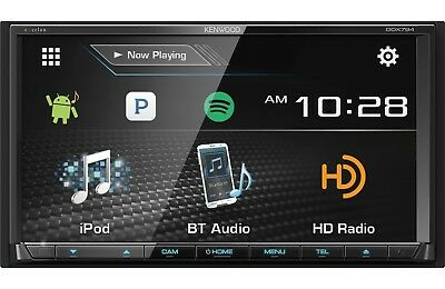 """NEW Kenwood eXcelon 7"""" DDX794 Double DIN Touch Screen Bluetooth DVD Receiver"""