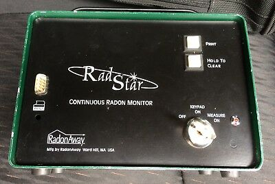 Used Radstar Model RS300 Continuous Radon Monitor