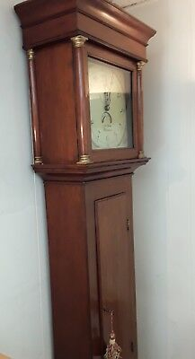 Georgian 30 Hr longcase clock by Howe of Alresford, Hampshire. Delivery options