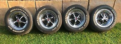 Ford Mustang Magnum 500 wheels x 4