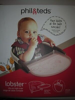 phil&teds Lobster Highchair, Black