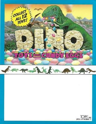 Selling sheet DINO TOYS Candy DINOSAUR Toy With Dinosaur Eggs Candy