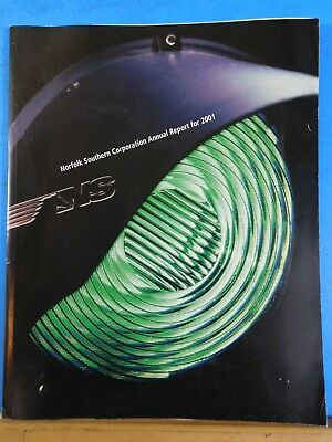 Norfolk Southern Railroad 2001 Annual Report Norfolk Southern Corporation