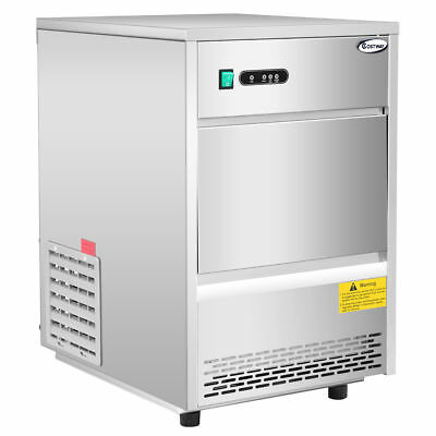 Costway Commercial Automatic Ice Maker Machine 70lbs/24h Stainless Steel Freesta