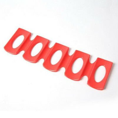 Silicone Fridge Can Beer Bottle Rack Holder Mat Stacking Tidy Tools Red