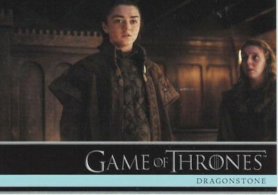 Game of Thrones Season 7 Trading Card Set (81 Cards) + Promo P1,P2