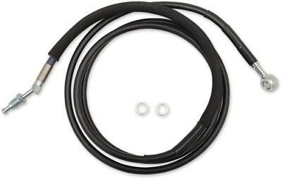 "Drag Specialties Black Hydraulic Clutch Line +4"" 74-1/8"""