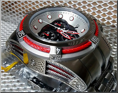 INVICTA   BOLT ZEUS  * RED CABLE FULL SIZE  *  - 410 Gramm - 52mm- XXL