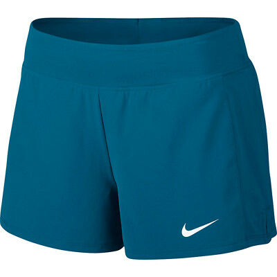 Womens NIKE COURT FLEX PURE 2 in 1 Tennis Shorts Size Small 830626-433