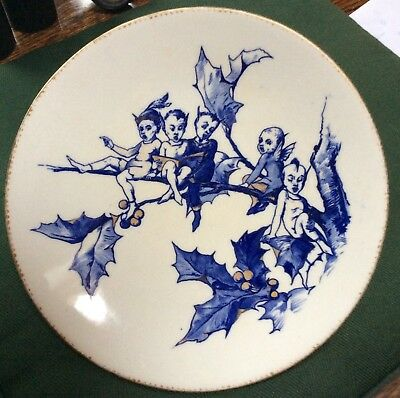 Aesthetic Movement Transferware plate by William Brownfield c.1870