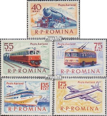 Romania 2161-2165 (complete issue) used 1963 Transport