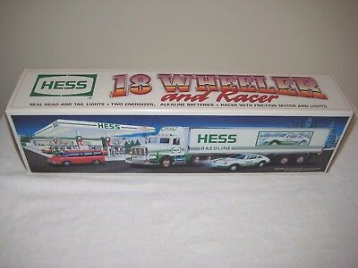Hess 1992 18 Wheeler And Racer New In Box Never Used
