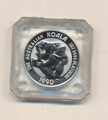 1/4 oz Platin Koala 1990 in Original Kapsel