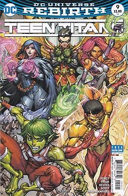 Teen Titans #9 (Aug. 2017, DC) Paolo Pantalena Variant Cover; NM- (9.2)