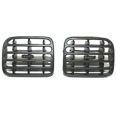 Renault Clio Air Ventilation Dashboard Grill Left And Right Black Colour Pair
