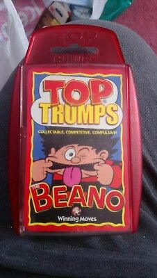 The Beano Top Trumps Card Game 2003 Edition