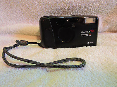 Yashica T4 mit Carl Zeiss T* Tessar 3,5/35mm in normal condition