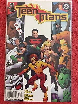 Teen Titans 3rd 1 DC LOT of 1 2003 Johns McKone Alquiza Turner