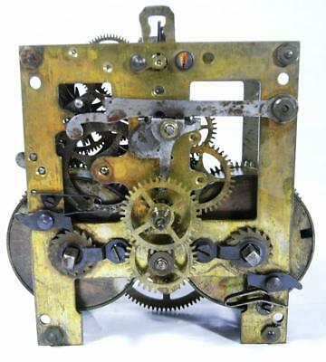 "WORKING ORDER ANTIQUE 4"" SILESIA P.42 (Gustav Becker) STRIKING CLOCK MOVEMENT"