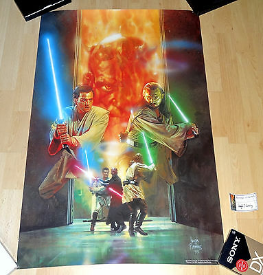 STAR WARS Revenge Of The Sith Limited Edition Lithograph of 3000 - Hugh Fleming
