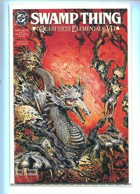 Saga Of The Swamp Thing #109 Nm 9.6 Great Dragon Cover