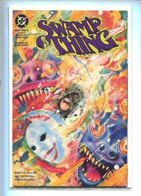 Swamp Thing #117 Nm 9.4 Colorful Cover Gem