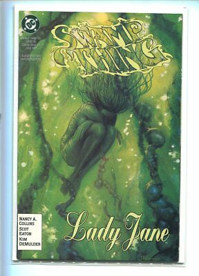 Saga Of The Swamp Thing #120 Nm 9.6 Stunning Green Tone Cover