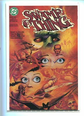 Saga Of The Swamp Thing #111 Nm 9.4 Gorgeous Cover Gem