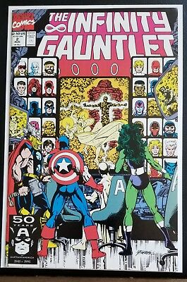 The Infinity Gauntlet #2 - NM Thanos Avengers Guardians movie