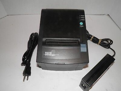 Touch Dynamic WTP-150 Thermal Point of Sale Receipt Printer w power supply USB