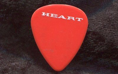 HEART 1990 Brigade Tour Guitar Pick!!! MARK ANDES custom concert stage Pick #2