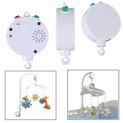 Crib Songs Lovely Bed Bracket Movement Baby Box Mobile Rotary Music Bell Toy