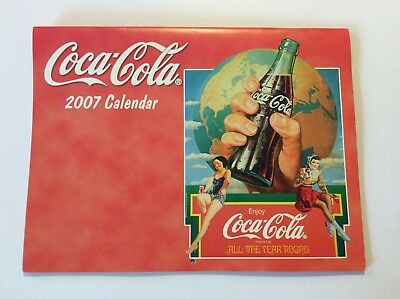 Coca Cola Collectible 2007 Calendar —New Old Stock