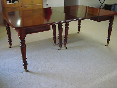Antique Australian Red Cedar Dining Table in very good condition, seats 6-8