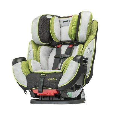 Rear Front New Recline Evenflo Symphony DLX Convertible Baby Car Seat In Porter