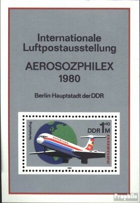 DDR block59 (complete.issue) unmounted mint / never hinged 1980 Interflug