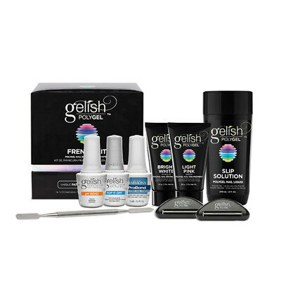 Gelish PolyGel Poly Gel Nail Enhancement System - (French Kit)