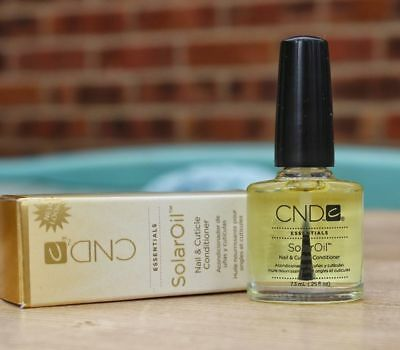 CND Solar Oil 7.3ml Cuticle Nail Care Manicure Treatment Nourish SolarOil